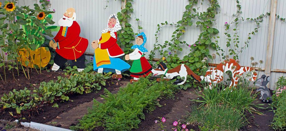 Детский огород своими руками 51