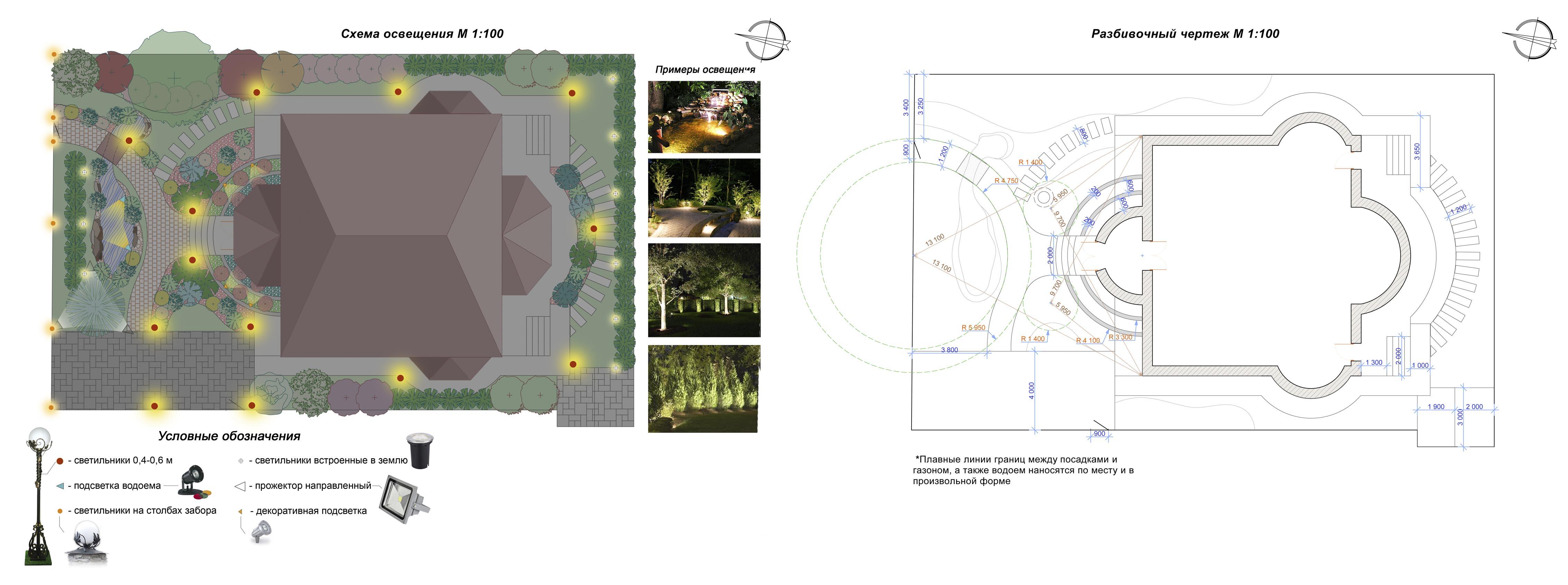 Проектирование электроснабжения на ландшафт электроснабжение в Тучковская улица