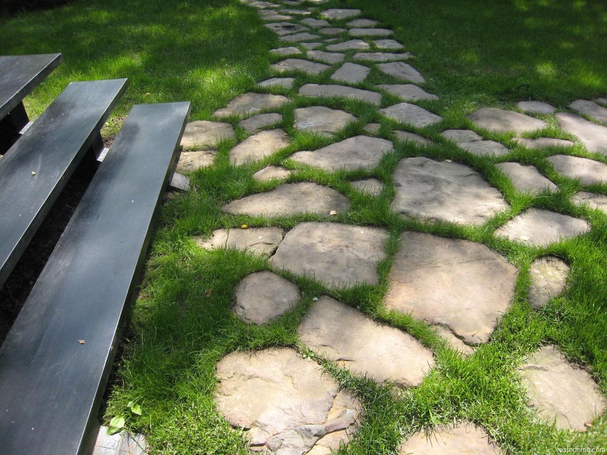 Дорожки из камня своими руками на даче и в саду: какой материал 97