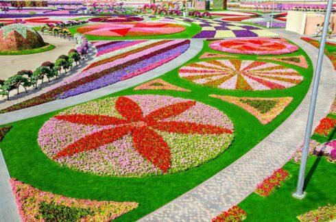 Ландшафтный дизайн клумб и цветники