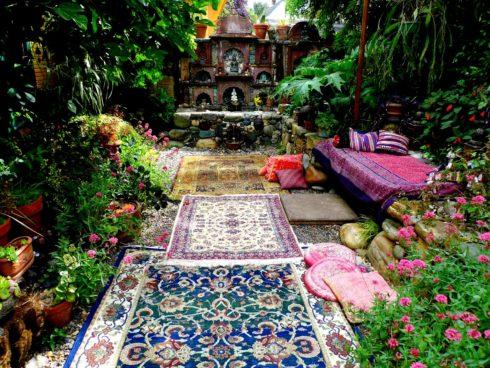 Ландшафтный дизайн сада мавританский