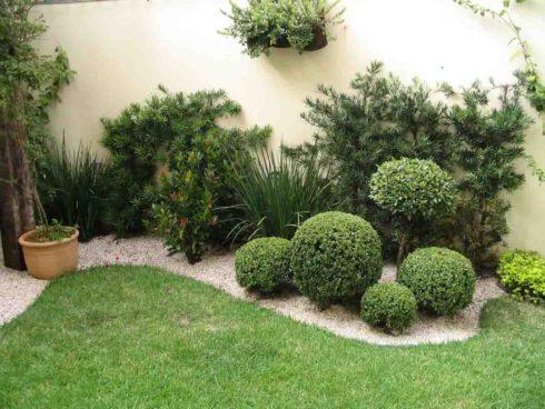 Ландшафтный дизайн сада ленивый