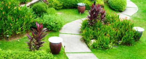 Ландшафтный дизайн тропинок на участке