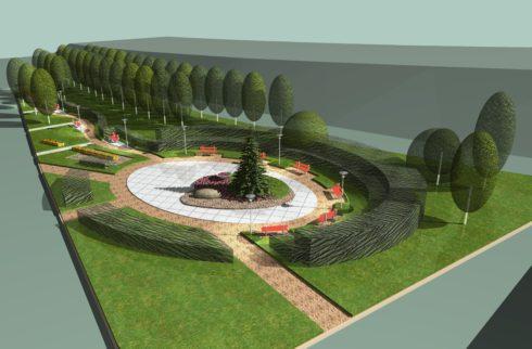 Проект озеленения придомовой территории