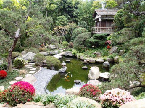 Ландшафтный дизайн сада японский