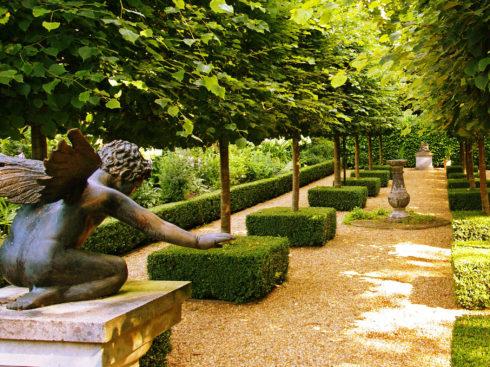 Ландшафтный дизайн сада французкий