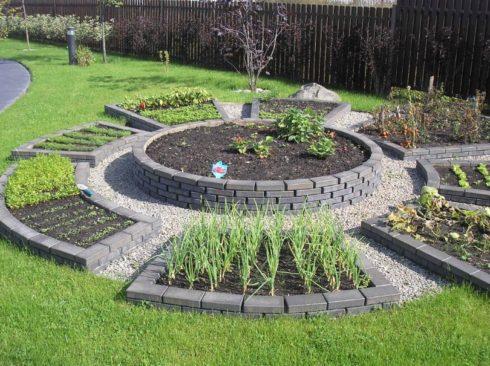 Декоративный огород в ландшафтном дизайне